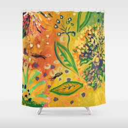 Immersed in Shallow Waters, Part 9 Shower Curtain