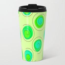 Lime it up! 90's Geometric Retro! Travel Mug