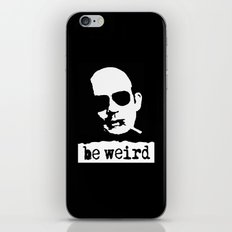 Hunter S. Thompson  |  Be Weird iPhone & iPod Skin