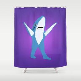 Left Shark Shower Curtain