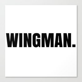 Wingman Canvas Print