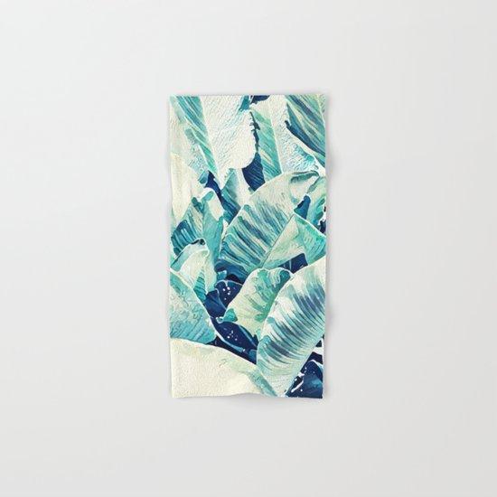 Banana Leaf Crush #society6 #decor #buyart Hand & Bath Towel