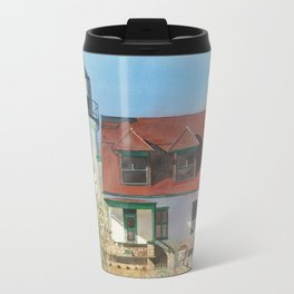Point Betsie Lighthouse Travel Mug