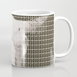 Bovine Skull - Black Coffee Mug