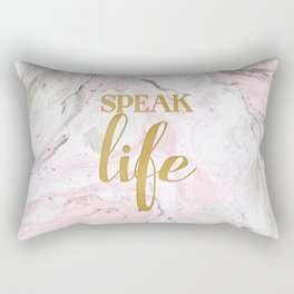 Speak Life Rectangular Pillow
