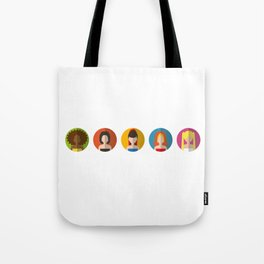 SPICE GIRLS ICONS Tote Bag