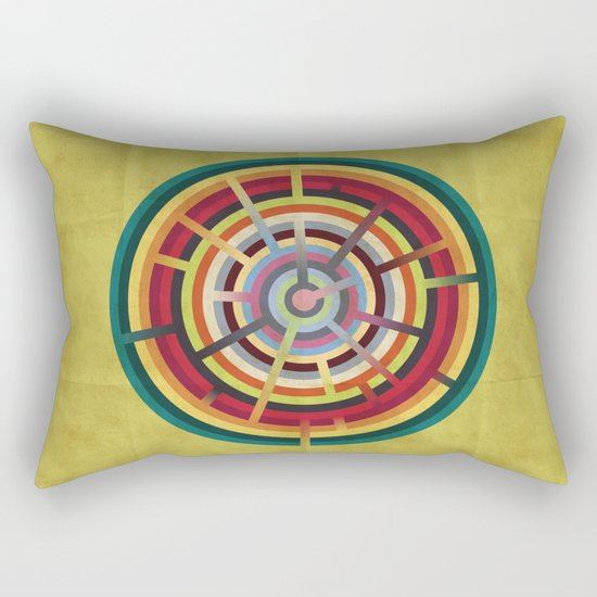 Lost in color Rectangular Pillow
