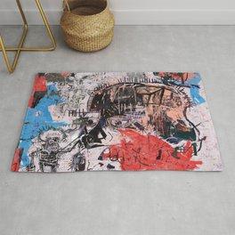 Basquiat Style Rug