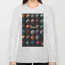 Exoplanets Long Sleeve T-shirt