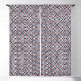 Quilted Winter Blackout Curtain