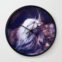 Dreamy Kitty Wall Clock