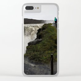 Dettifoss Waterfall in Iceland (3) Clear iPhone Case