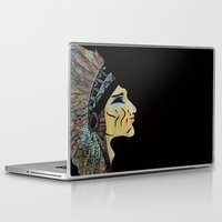 native Laptop & iPad Skins featuring Native by Red Dust