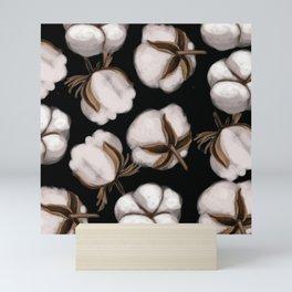 Cotton flower Mini Art Print