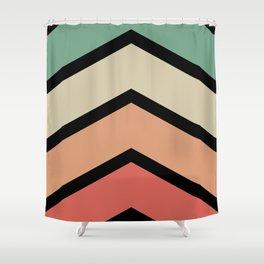 Chevron Shower Curtain