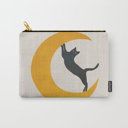 Moon and Cat Carry-All Pouch