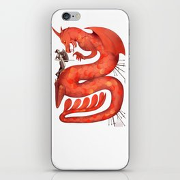 The Warrior and the Worm iPhone Skin