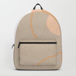 Simple shapes boho minimalist design Backpack