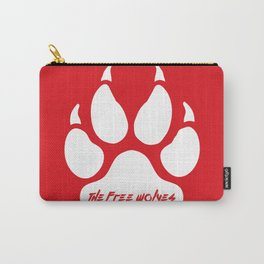 White Paw [Red] Carry-All Pouch