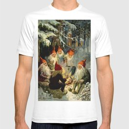 """""""Campfire Cooking"""" Tomten by Jenny Nystrom T-shirt"""