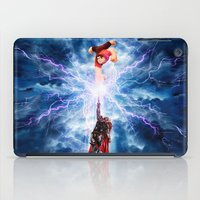 wreck it ralph iPad Cases featuring THOR vs RALPH by Raisya