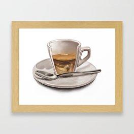 Italian coffee Framed Art Print