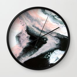 Pieces Of You Abstract Painting Wall Clock