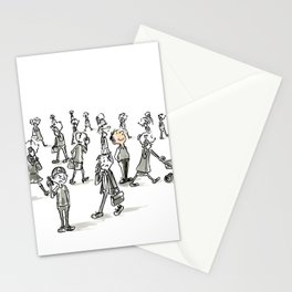 Unplugged Urban Art Stationery Cards
