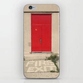 Fire Exit iPhone Skin