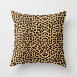 Cheetah Print Deko-Kissen