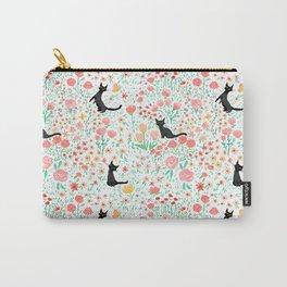 Lucky Cat Garden Carry-All Pouch