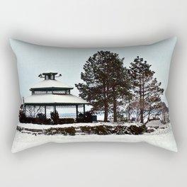 Gazebo on the Lake Rectangular Pillow