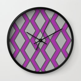 INSIDE THE DAIMONDS Wall Clock