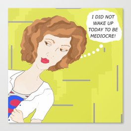Superwoman Canvas Print