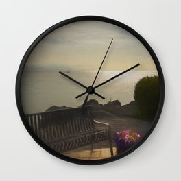 Rogers City View Wall Clock