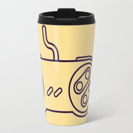 Super Nintendo Controller - Retro Style.  Travel Mug