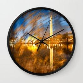 Washington DC Wonderland Wall Clock