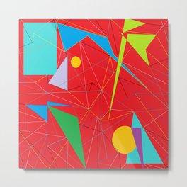Euclid's Spider Webs Metal Print