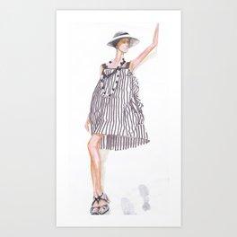 Stripes 2! Art Print