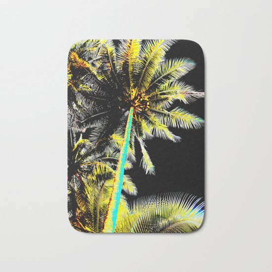 Tropical Night Bath Mat