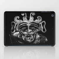 mythology iPad Cases featuring Shadow Beast Mythology by Anya Campbell by BohemianBound