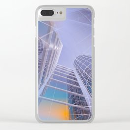 look into the sky -2- Clear iPhone Case