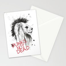 punks not dead Stationery Cards