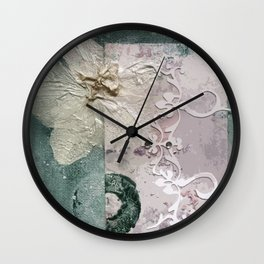 The Moth Orchid Wall Clock
