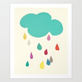 Sunshine and Showers Art Print
