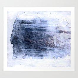 compressed waves Art Print