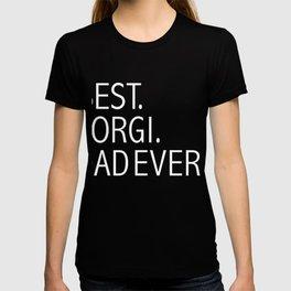 Best Corgi Dog Dad Ever Dog Owner Lover Parent T-shirt