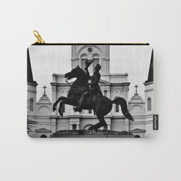 Jackson Square, squared Carry-All Pouch