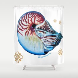 Eco Mural Project 7: Nautili Shower Curtain