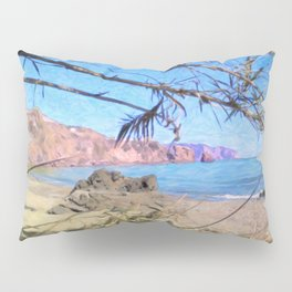 Nerja Beach, Spain Pillow Sham